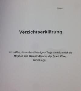 """Eine """"Blanko-Verzichtserklärung"""""""